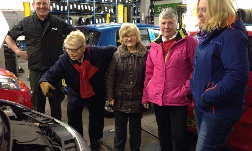 Free Vehicle maintenance evening with The Women's Institute- HiQ Dewsbury.
