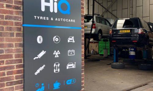 HiQ-Tyres-Autocare-Haywards-Heath-sign-and-workshop.jpg