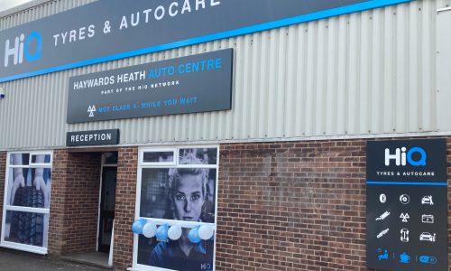HiQ-Tyres-Autocare-Haywards-Heath-sign-and-workshop.jpg.jpg
