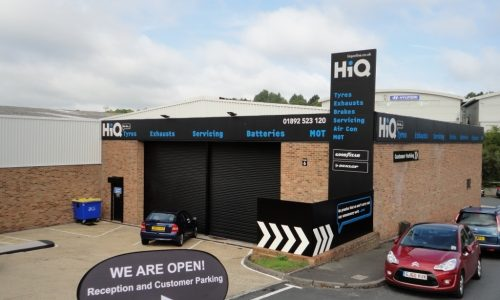 HiQ Tunbridge Wells external