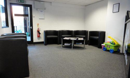 HiQ Tunbridge Wells waiting area