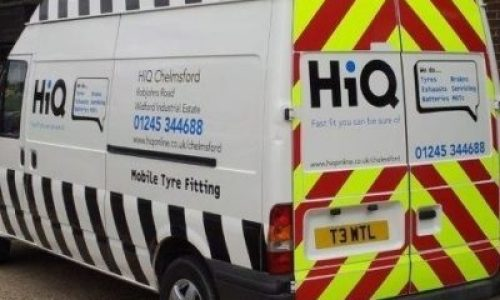 HiQ Tyres & Autocare Chelmsford mobile van