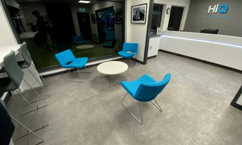 Hi Q Tyres Autocare Chelmsford waiting area revamp