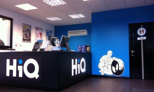 HiQ Ipswich Reception area