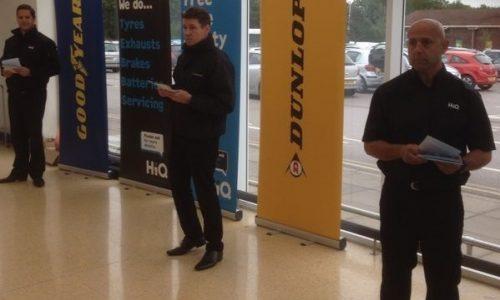 HiQ Ipswich Sainsbury's Promotion 2014
