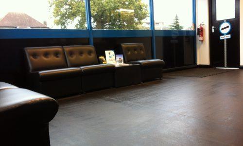 HiQ Ipswich waiting area