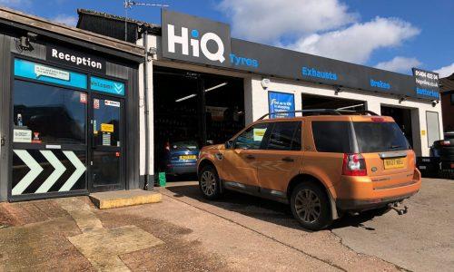 HiQ Tyres & Autocare -Honiton-exterior.jpg