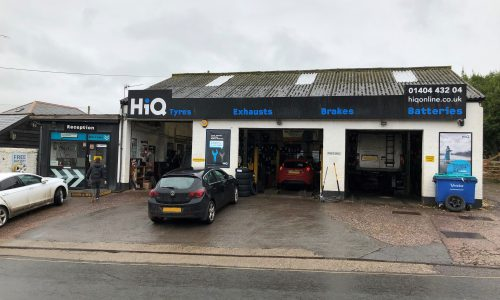 HiQ Tyres & Autocare -Honiton-outside.jpg