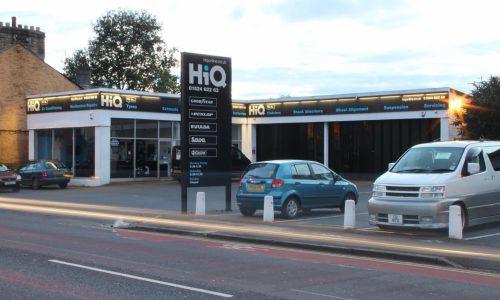 HiQ Lancaster store front