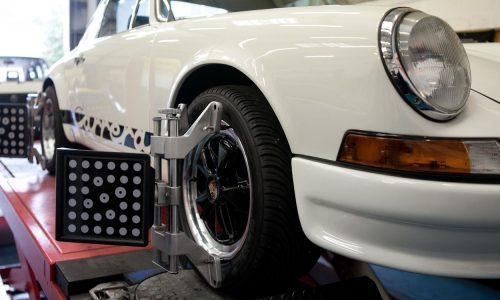 The latest wheel alignment equipment