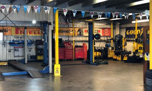 HiQ Medway equipment in workshop