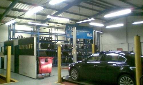 HiQ Northwich Workshop
