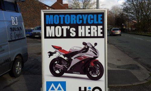 HiQ Northwich - MOT Motorcycles