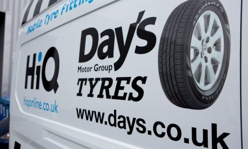 HiQ (Day's) Gorseinon mobile vans can go to your house or work- tyres, brakes, exhausts, servicing, batteries, MOTs