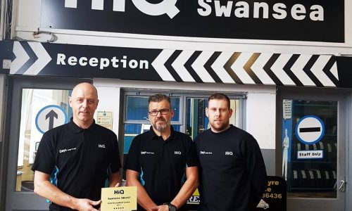 HiQ (Day's) Gorseinon team - Gold Standard award 2017