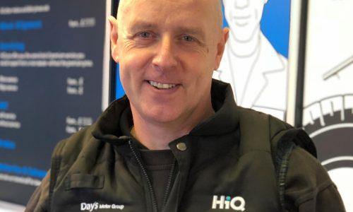 HiQ Gorseinon manager Andrew Fall