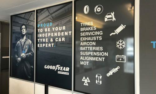 HIQ Tyres Autocare Gorseinon new signage