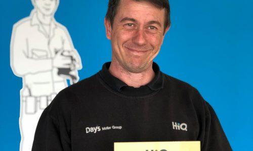 HiQ Llansamlet Gold Standard award 2018