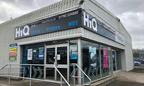 HiQ Llansamlet outside centre