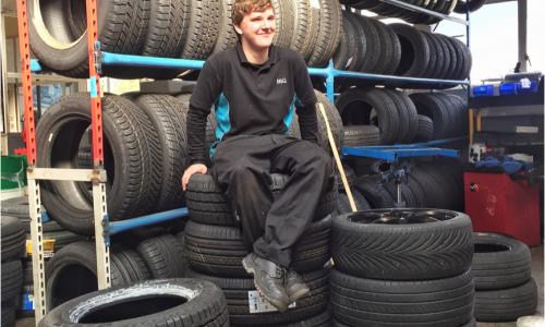 Jack Wood - Apprentice Technician