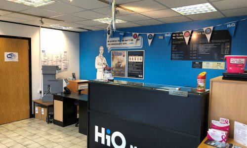 HiQ Malvern reception area