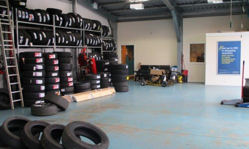 HiQ Leicester workshop and tyres in stock to suit all price points, from budget to premium.