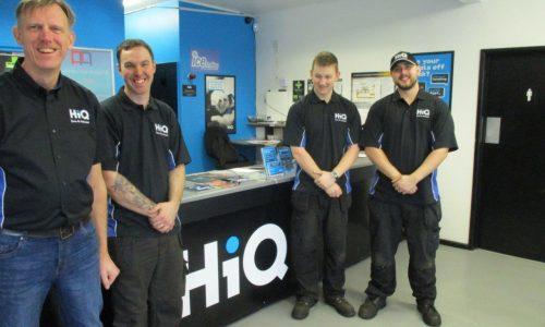 HiQ Burton team