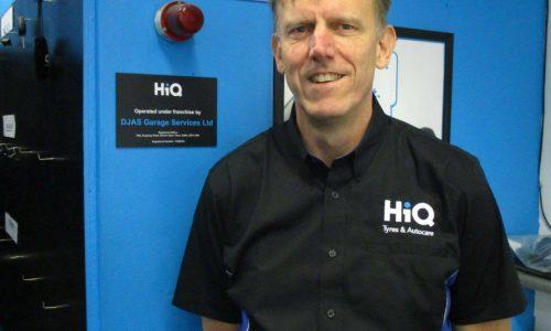 HiQ Burton franchisee Pete Haywood