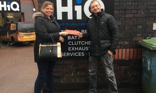 Hi Q Tyres & Autocare Bath prize winners