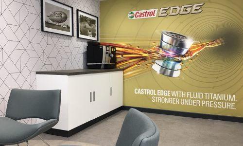 HiQ Castrol Centre Reception view