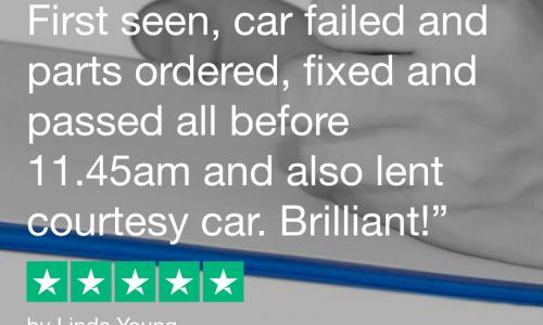 HiQ Tyres & Autocare Hedge End Trustpilot Review