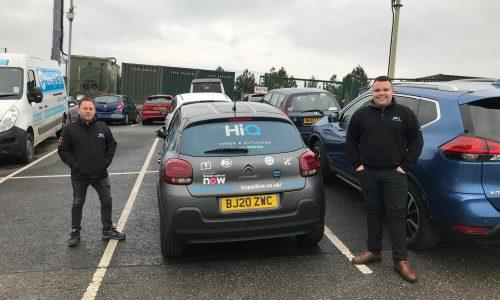 HiQ Plymouth Team & courtesy car
