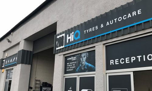 HiQ Tyres & Autocare Plymouth exterior of store