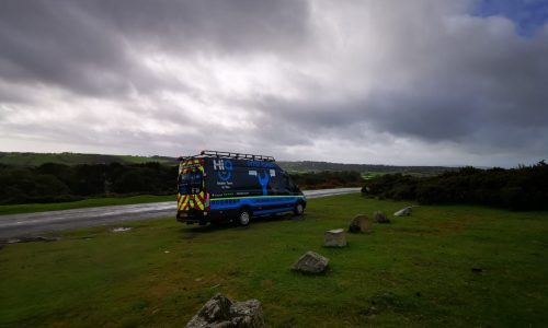 HiQ Tyres & Autocare Plymouth in the countryside