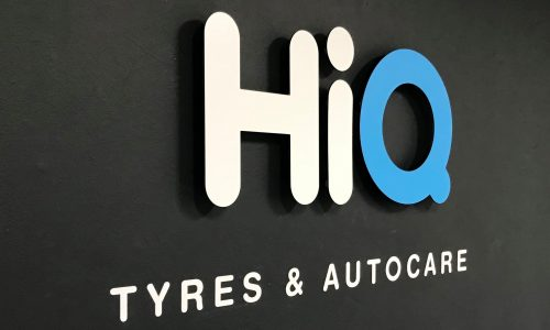 HiQ Enfield Signage