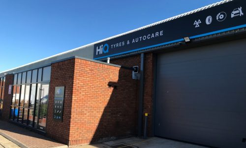 HiQ Enfield Front of Store