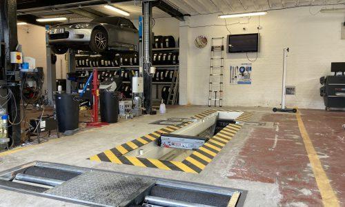 Hi Q Tyres Autocare Colchester workshop capability