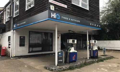 Hi Q Tyres Autocare Maidenhead entrance