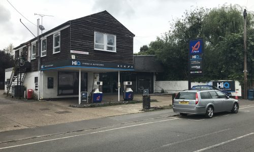 Hi Q Tyres Autocare Maidenhead exterior view from the high street