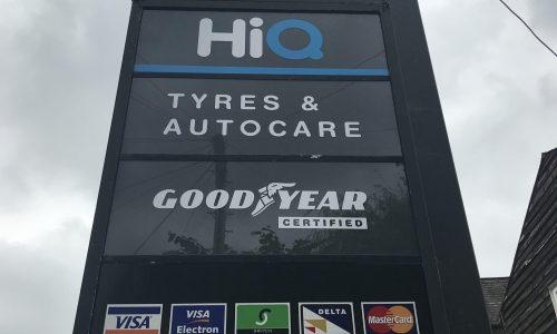 Hi Q Tyres Autocare Maidenhead totem