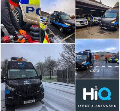 Hi Q Preston hiq2u van photo collage