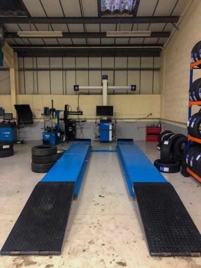 Hi Q Tyres Autocare Preston workshop 1 2
