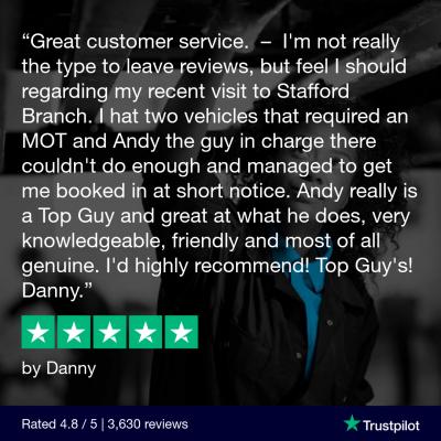 Trustpilot review 5 star