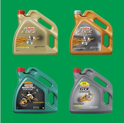 Castrol oils