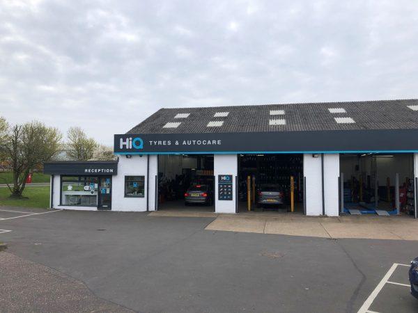 Hi Q Tyres Autocare Chelmsford exterior 1