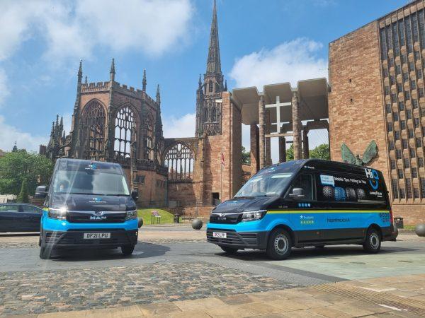 Hi Q Tyres Autocare Coventry Mobile Vans