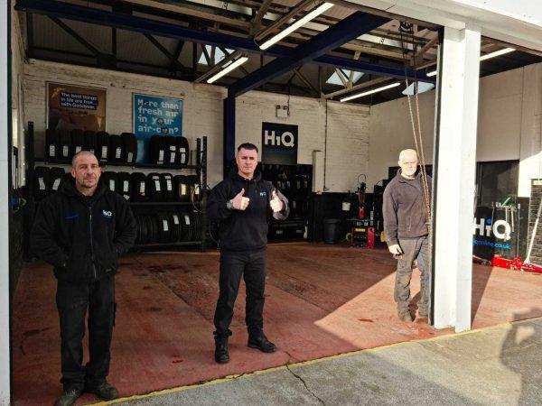 Hi Q Tyres Autocare Stafford Workshop