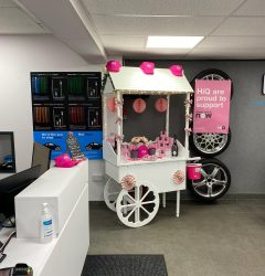Project Pink Reception at HiQ Tyres & Autocare