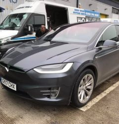 3 Teslas in one day Busy
