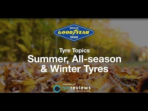 Summer all season and winter tyres
